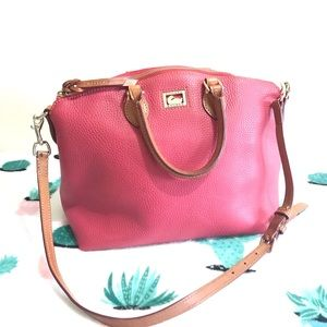 Dooney & Bourke Pink Leather Bag Purse 👜 10x 16